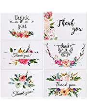 Creative Holiday Thank You Cards Flowers For Your Wedding Baby Shower Birthday Discount Cards For Baking Flower Shop, Praise After-sales Service Cards 18 Cards and Envelopes