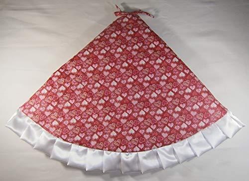(Arkansewn Valentine's Day Tree Skirt, 47