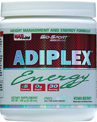 Biosport-USA-Adiplex-Energy-Pre-Workout-Fat-Burner-for-Women-Designed-to-increase-workout-motivation-while-supporting-lean-muscle-and-weight-loss-Kiwi-Berry-30-Servings150-Gram