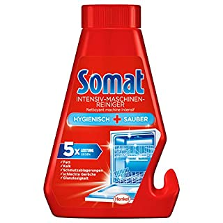 Somat Intensive Dishwasher Machine Cleaner and Descaler - Fights Stubborn Fat, Grease, and Limescale - 250 ML
