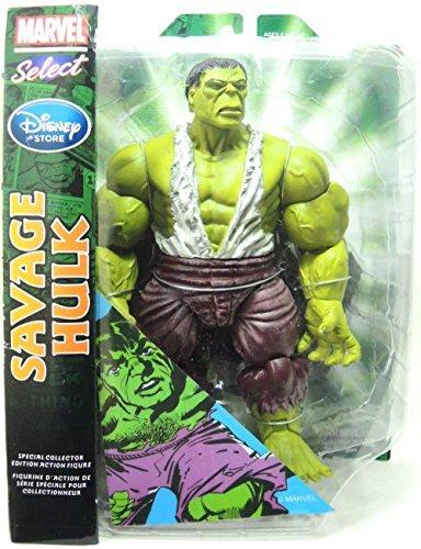 Marvel Select Exclusive Action Figure Savage Hulk - 10