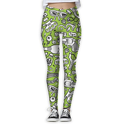 Hot Doppyee New Fight Stuff Printing Design Compression Leggings Pants Tights For Women S-XL supplier