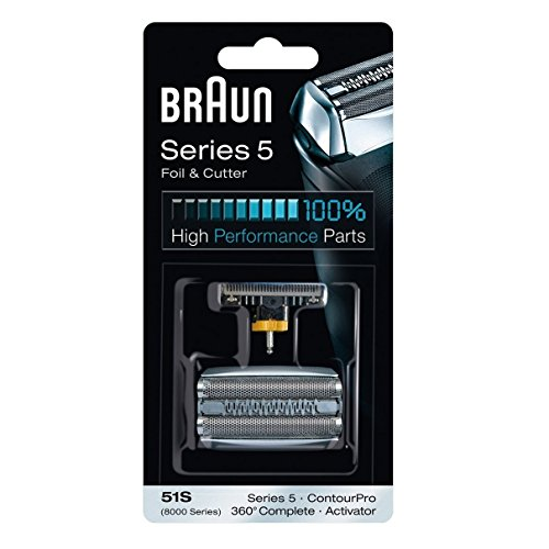 Braun Series 5 Combi 51s Foil And Cutter Replacement Pack by Braun by Braun