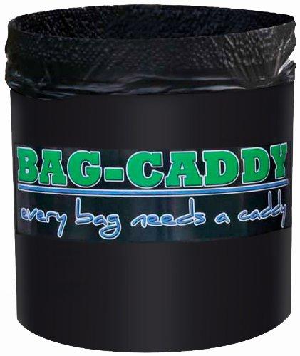 Bag-Caddy Portable Garbage/Storage Bag Frame, Black