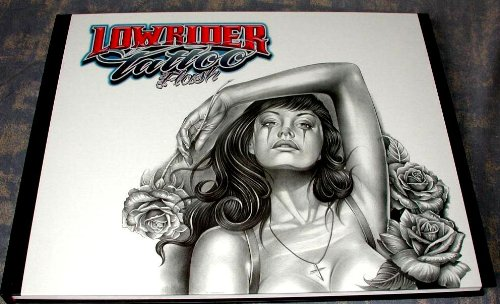 - Lowrider Tattoo Flash (Chicano Gangster Cholo Deluxe Hardcover Book from Italy)