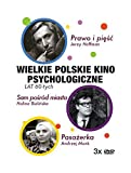 Polskie Kino Psychologiczne: Pasa??erka, Prawo i piÄ™?›Ä‡, Sam po?›r??d miasta [BOX] [3DVD] (No English version)