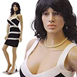 Realistic Standing Female Adult Mannequin + Base + 2 Free Wigs (SP-24+2W)