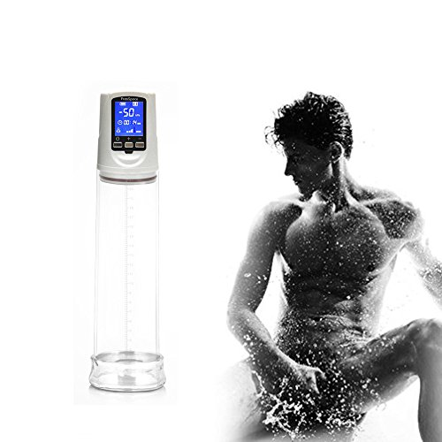 Zunmin Electric Male Penis Vacuum Pump Auto-Powered Men Strong Suction Air Pressure For Valve Control Adult Sex Toys For Men Effective Enlarge Vacuum Pump Sexy Product Toy (white) by Zunmin