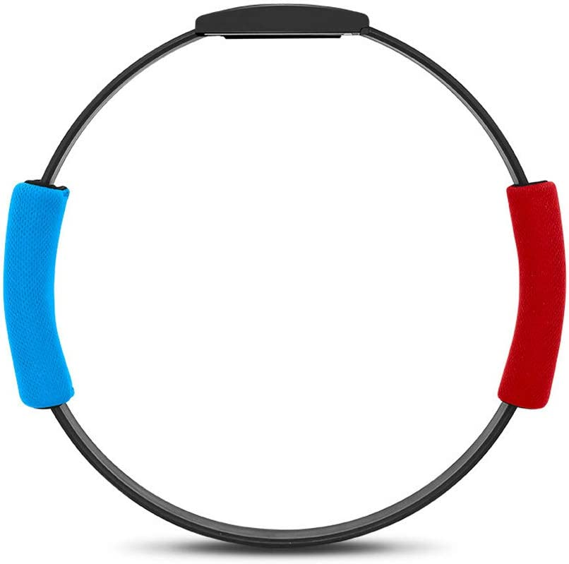 Goolsky Compatible con Nintend Switch Joy-con Ring Fit Adventure Game Correa de Pierna Elástica Ajustable Sport Band Ring-con Grips Leg (El Producto no Contiene Juegos)