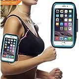Werrox Armband Case Sports Gym Running Jogging Exercise Arm Band Phone Holder Key Bag | Model FTNSSBG - 20 |