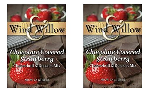 - Wind & Willow Sweet Cheeseball and Dessert Mix - 3.5 Oz. (2-pack) (Chocolate Covered Strawberry)