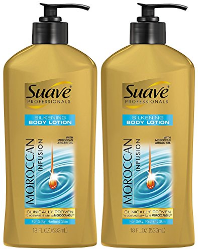 Suave Professionals Hand and Body Lotion, Moroccan Infusion