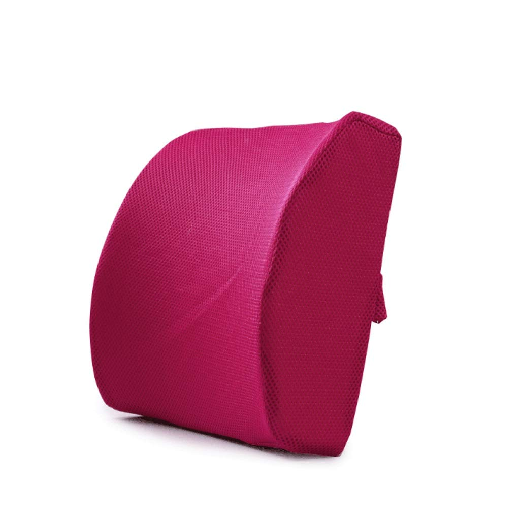 DONGLU Cushion Space Memory Cotton Reading Pillow Lumbar Lumbar Thick Office Cushions Car Waist by Waist 32cm34cm12cm (Color : 12#)