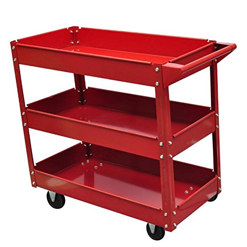 SKB Family Workshop Tool Trolley 220 lbs. Heavy Duty Storage Rolling Cart by SKB Family