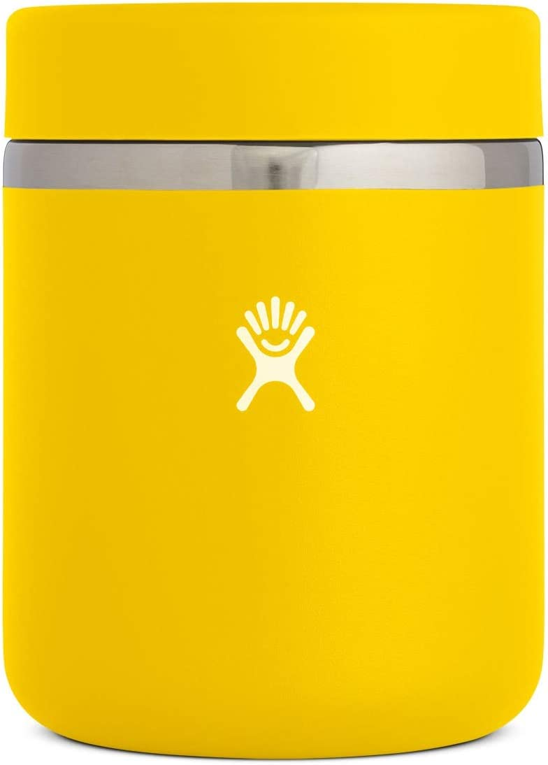 Hydro Flask Food Thermos Jar - Stainless Steel & Vacuum Insulated - Leak Proof Cap - 28 oz, Sunflower