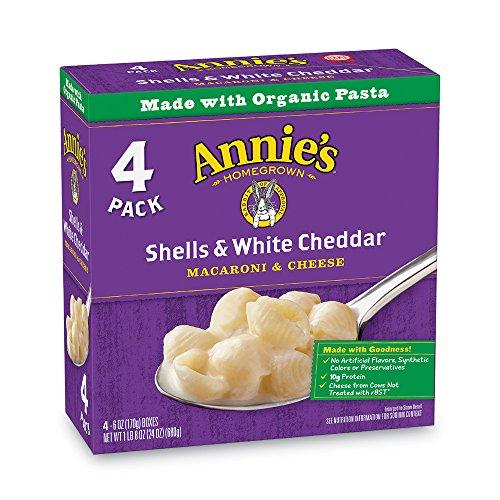 Annie's Shells & White Cheddar Macaroni & Cheese, 6 oz