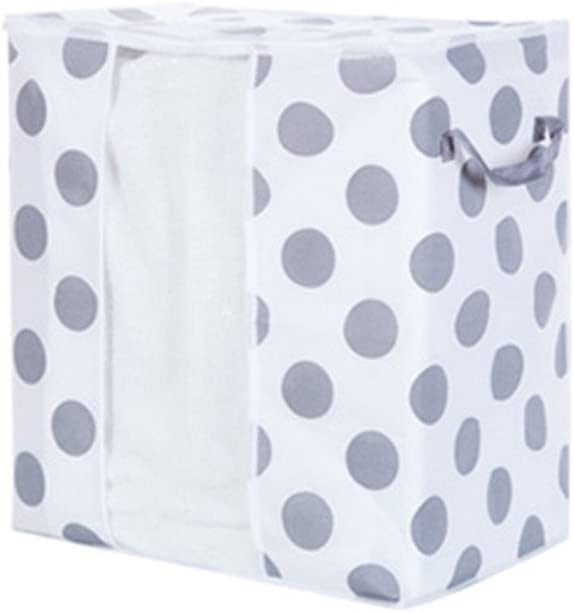 ALIKEEY Kleiders/äcke Foldable Storage Bag Clothes Blanket Quilt Closet Sweater Organizer Box Pouche A