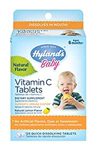 Amazon Com Hyland S Baby Vitamin C Tablets Natural