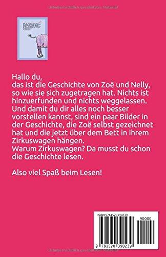 Zoe Und Das Zebra German Edition Helmut Flender 9781520390239