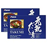 2X Umeken Takumi- Healthy seasoning with the finest, natural ingredients including Kombu, Bonito extract powder, Tamogitake mushroom extract, Shiitake mushroom extract. NO MSG. 26 packets. Made in Jap Review