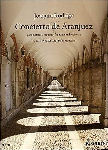 Amazon.com: Concierto de Aranjuez (guitar & piano reduction ...
