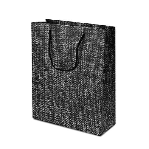 TtoyouU 8pcs Large Kraft Paper Gift Bags Weaving Lines Gift Bags Birthday Wedding Party Favors Christmas Gift Bags