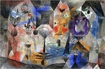 Posterlounge Alu Dibond 30 x 20 cm: Concentrierter Roman de Paul Klee/ARTOTHEK