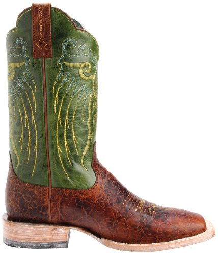Ariat Mens Mesteno Western Cowboy Boot Adobe Clay/Neon Lime 2lk8x6ck51