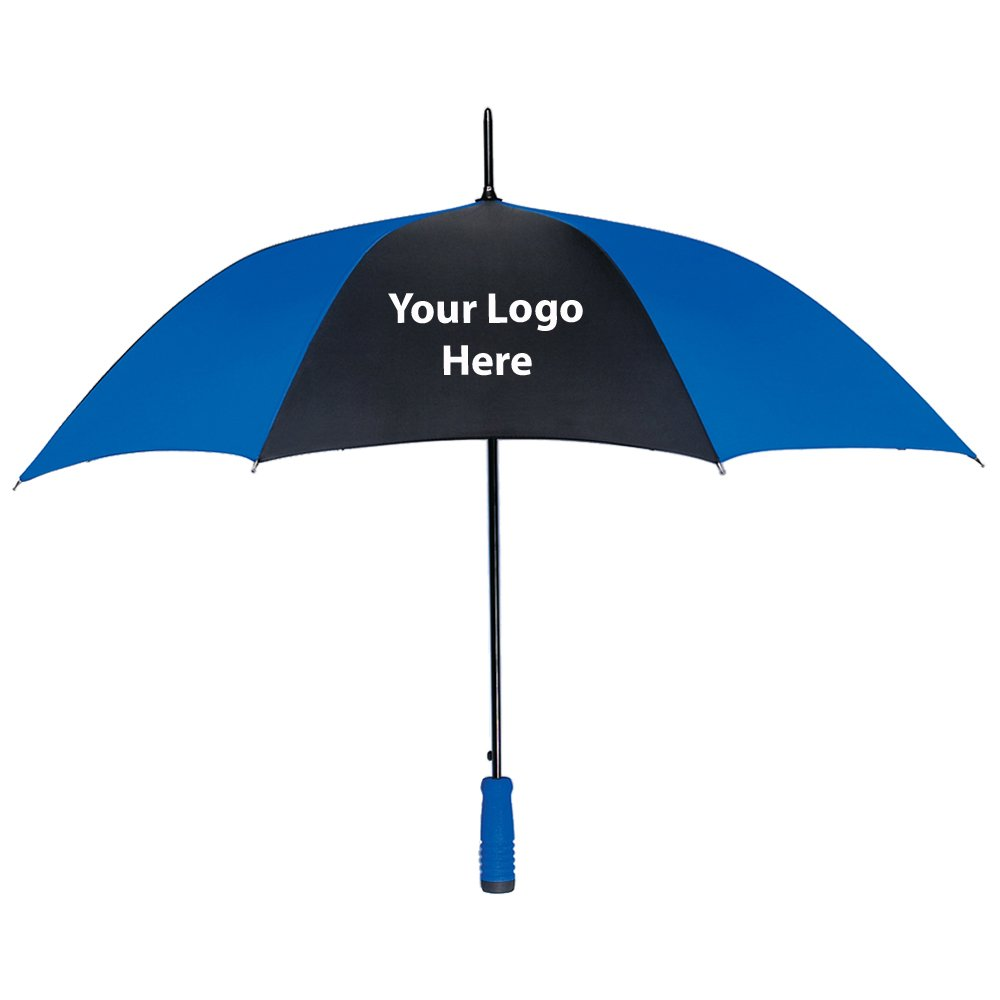 46'' Arc Umbrella - 25 Quantity - $11.19 Each - PROMOTIONAL PRODUCT / BULK / BRANDED with YOUR LOGO / CUSTOMIZED