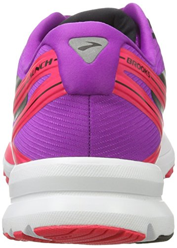 Brooks Launch 4, Zapatos Para Correr Mujer Rosa (Purplecactusflower/divapink/black)