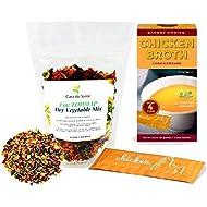 Low FODMAP Vegetable Rice/Quinoa/Barley Meal Kit - No Onion No Garlic Seasoning, Gluten-Free by Casa de Sante (Chicken)