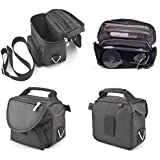 Black Carry Case Travel Bag For TomTom Pro 5150 Truck Live Sat Nav With Carry Strap and Accessory Storage