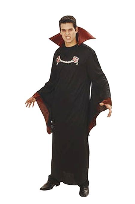 César Joker M830-001 - traje del vampiro, Negro/Rojo: Amazon ...