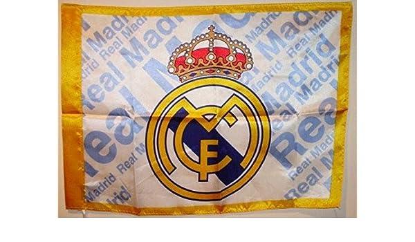 BANDERA REAL MADRID C.F, 0,50 * 0,68 cm: Amazon.es: Juguetes y juegos