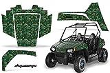 AMRRACING Polaris RZR 170 Youth All Years Full Custom UTV Graphics Decal Kit - Digicamo Green