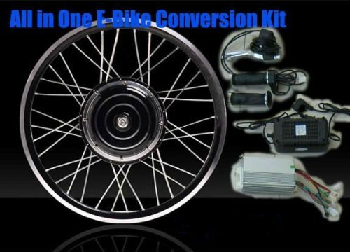 eBike 36v 500w 26in REAR WHEEL Electric Bike Bicycle Motor Conversion Kit / USA / ebike kit / Electric Bicycle Kit - BATTERY NOT INCLUDED
