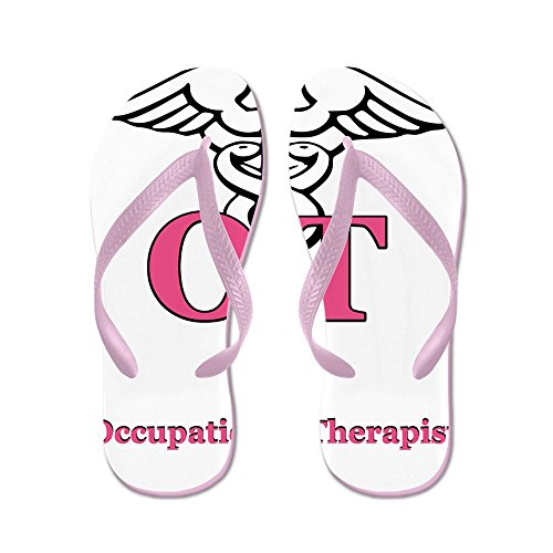 Flops Beach Sandals Occupational Cafepress Therapist Sandals Flip Thong Pink Funny tP4Rv