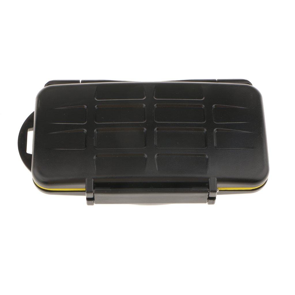 Baoblaze Memory Card Holder Hard Storage Case Waterproof Anti Shock Box for Camera by Baoblaze