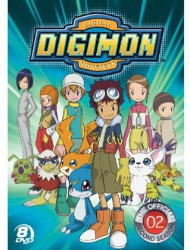 Digimon: Digital Monsters - The Official Second Season by NEW VIDEO GROUP