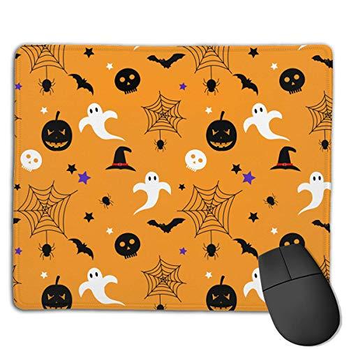 (Halloween Spider Web Skull High Speed Surface Desk Pad Gaming)