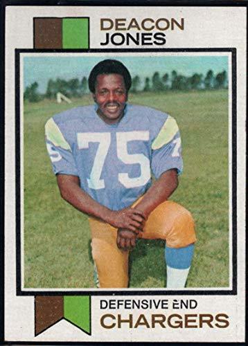 Football NFL 1973 Topps #38 Deacon Jones Chargers ()