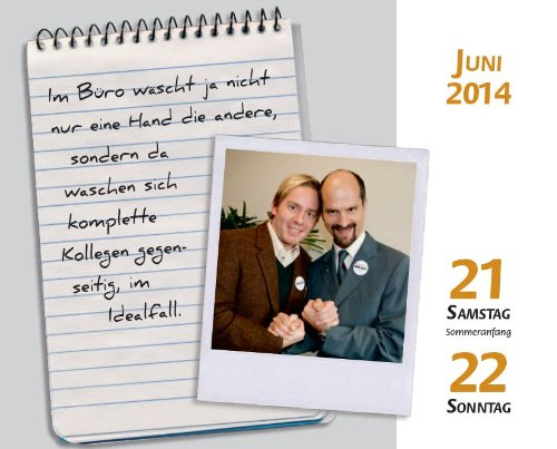 Stromberg 365 Tage Kalender 2014 Amazon De Bucher