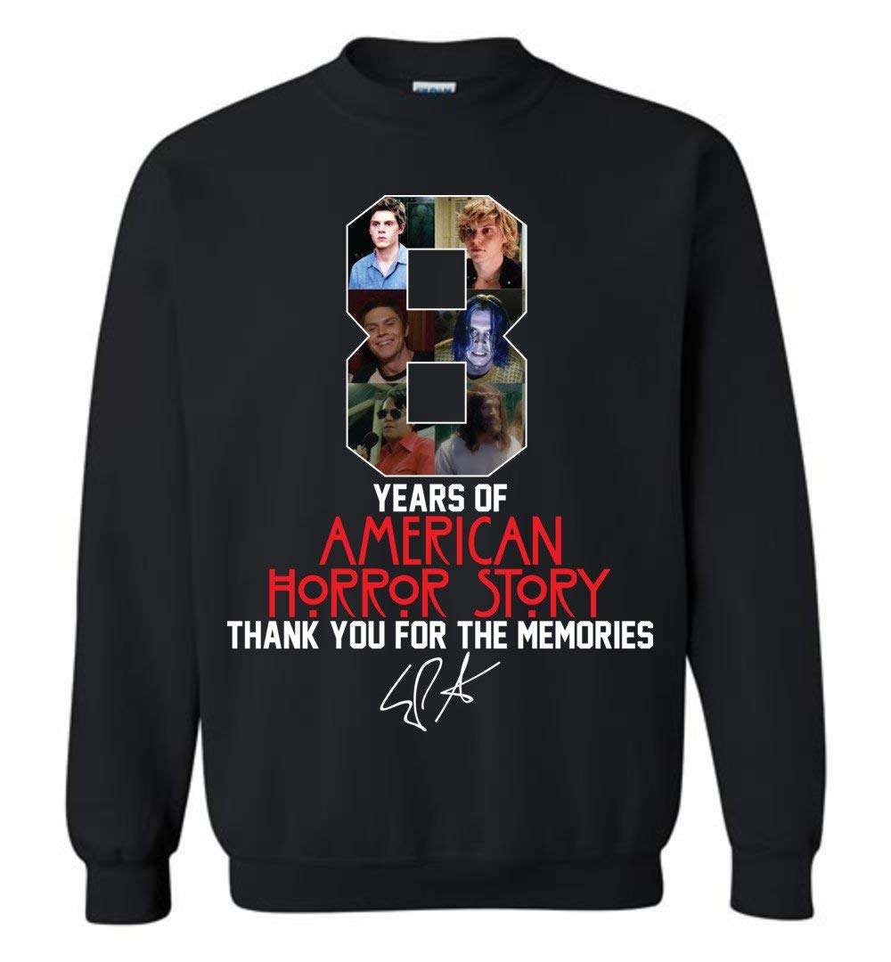 Clothingforfun 8 Years Of American Horror Story Thank You For The Memories Fans Shirt 7811