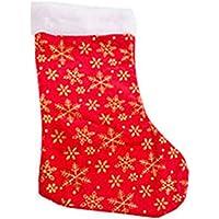 KM-PRT-0408 Simli Yıldızlar Yılbaşı Hediye Çorabı