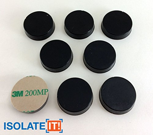 (Isolate It: Sorbothane Vibration Isolation Circular Disc Pad 0.25