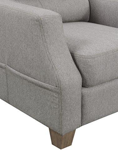 Pulaski DS-D192-710 Storage Pocket Accent Chair Ottoman, Fawn