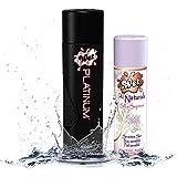 wet silky - Wet® Platinum® Premium Lubricant - 8.9 fl. oz/ 265mL and Wet® Naturals Silky Supreme Gel Lubricant - 3.1oz/88g