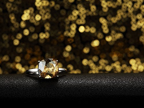 Swarovski Elements Ombre Or ''Alcina'' Bague