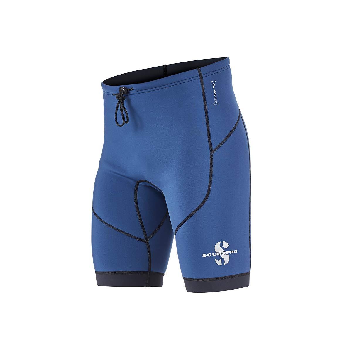 Scubapro Men's 1.5mm Everflex Dive Shorts (Aegean, 3X-Large)