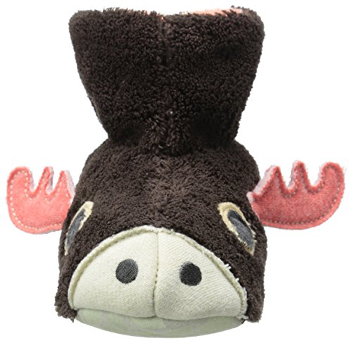 Little Moose Toddler Kid Critter Easy Slipper Bootie Kid Big Infant ACORN vFqwYW